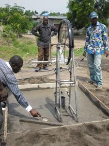 Brunnenbauer: ein lukrativer Beruf