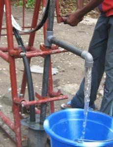 Lokal hergestellte Pumpe
