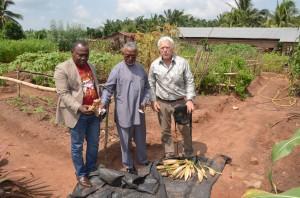 Der Besuch von Songhai und sein Direktor Godfrey Nzamujo (unser zukünftiger lokaler Partner)