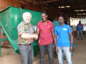 Wiedersehen mit dem Werkstattleiter Léonce