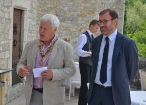 Rotary C. Souillac en Quercy (Stefan Maubrey R. u. Arne Thies L.)